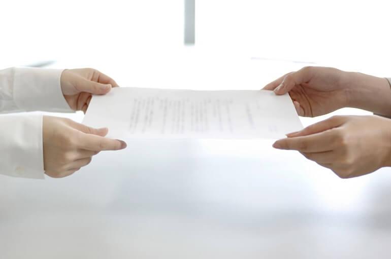契約書の作成と確認について